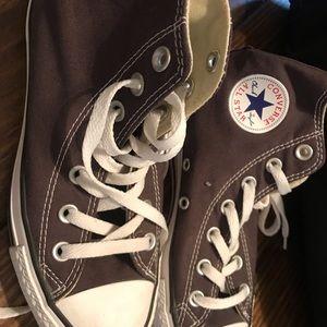 Grey Converse high top
